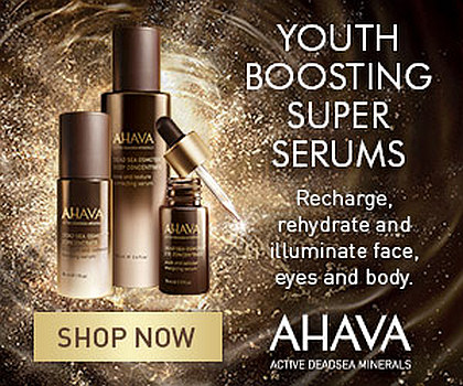 Ahava – Youth Boosting Serums